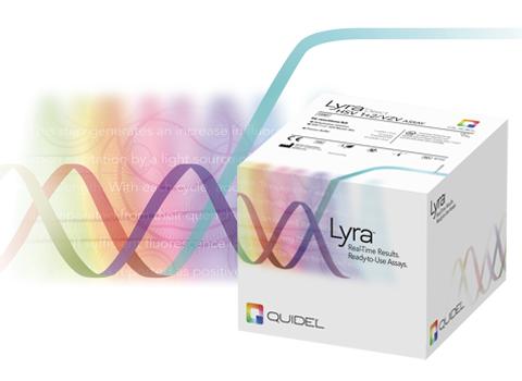 HSV VZV - Lyra Direct HSV 1+2/VZV Assay from Quidel