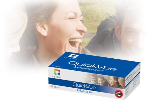 Quickvue Influenza Test Quidel